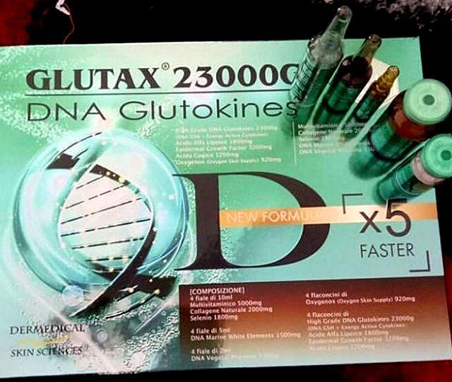 23000GK DNA GLUTOKINES GLUTATHIONE SKIN WHITENING